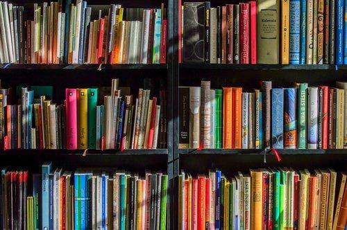 Tapetoi seinäsi kirjojen avulla
